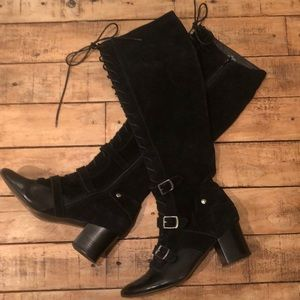 Anthropologie Pied Juste Knee High Boots